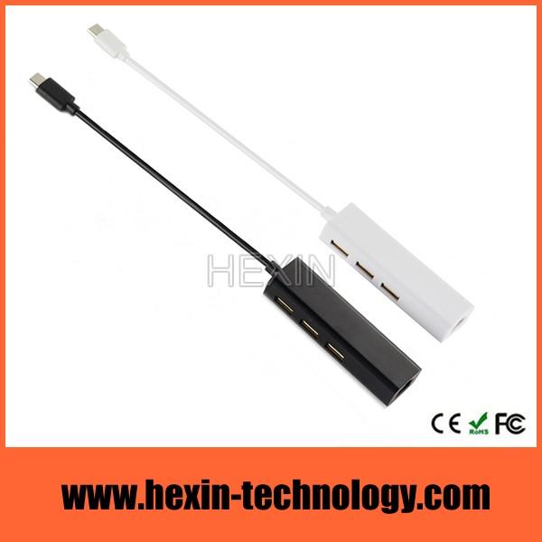 usb hub ethernet combo adapter