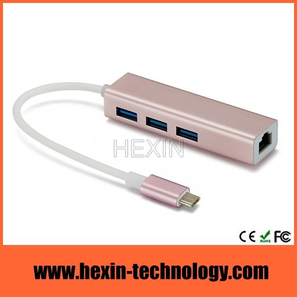 usb 3.0 hub ethernet combo adapter