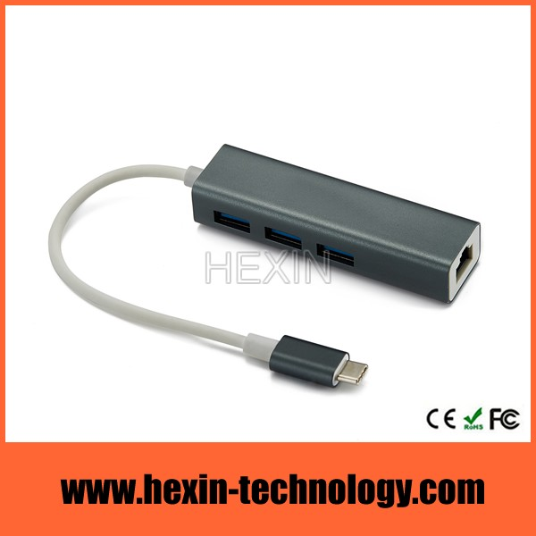 usb 3.0 hub ethernet combo adapter
